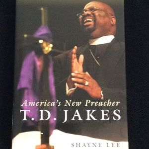 T.D.Jakes book (3)w/ a free Queen sugar bag